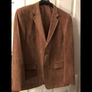 Men's tan coloured sports coat  (corduroy)